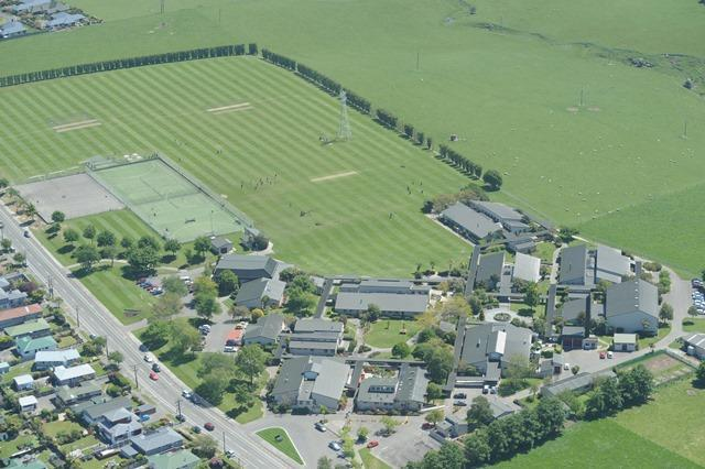 School aerial photo small